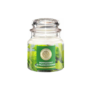 Vanity Wagon | Buy House of Aroma Peppermint & Frankincense Scented Candle for Aromatherapy