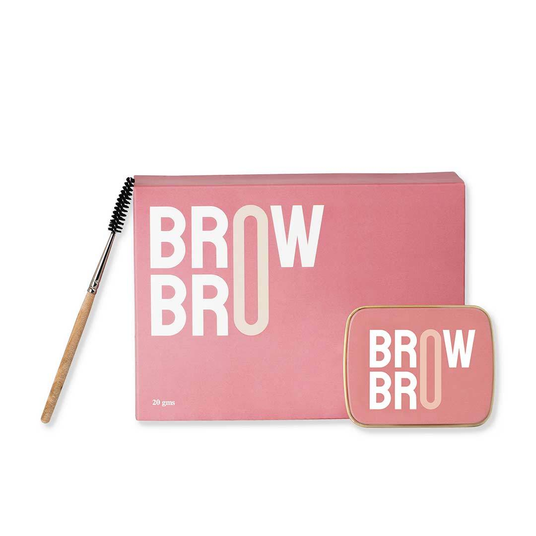 Indulgeo Essentials Brow Bro for fuller and fluffier eyebrows