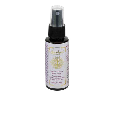 Indulgeo Essentials Rose Geranium Witch Hazel, Toning Mist