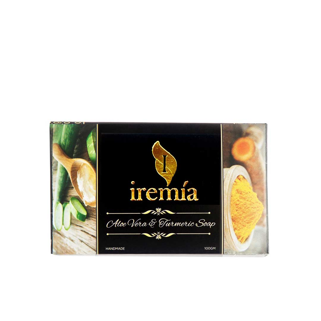 Iremia Aloe Vera and Turmeric Soap Bar -1