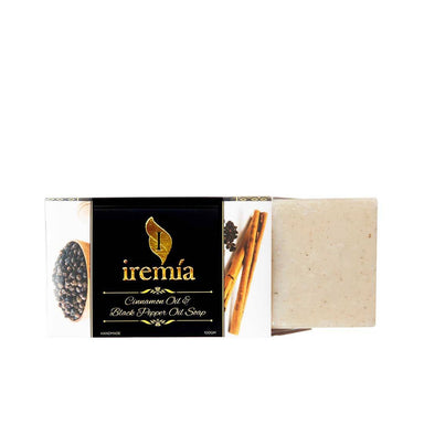 Iremia Cinnamon Oil and Black Pepper Oil Soap Bar -2