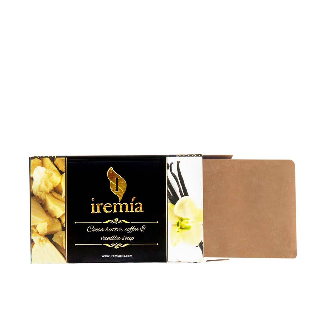 Iremia Cocoa Butter, Coffee Extract and Vanilla Soap Bar -2