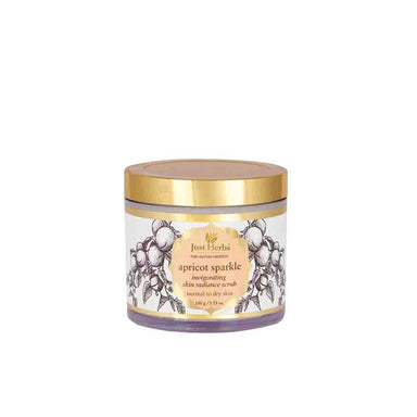 Just Herbs Apricot Sparkle, Invigorating Skin Radiance Scrub