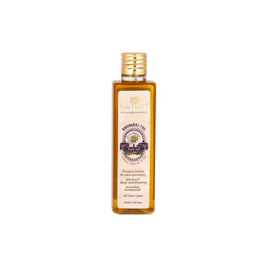 Just Herbs Bhringraj Tail, Ayurvedic Hair Oil for Deep Conditioning