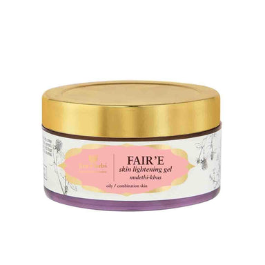 Just Herbs Fair'e, Skin Lightening Gel with Mulethi and Khus