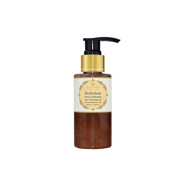 Just Herbs Livelyclean, Honey Exfoliating Face Cleansing Gel