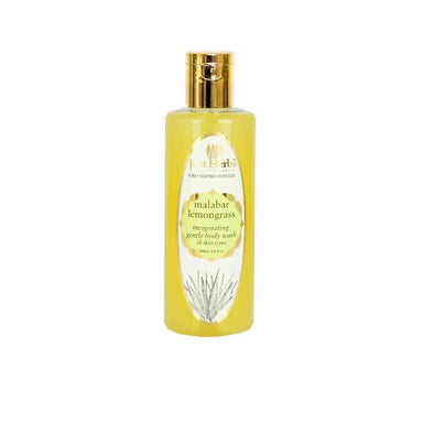 Just Herbs Malabar Lemongrass, Invigorating Gentle Body Wash