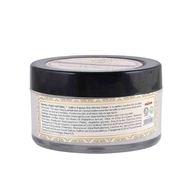 Khadi Natural Herbal Anti Wrinkle Cream with Saffron and Papaya -2