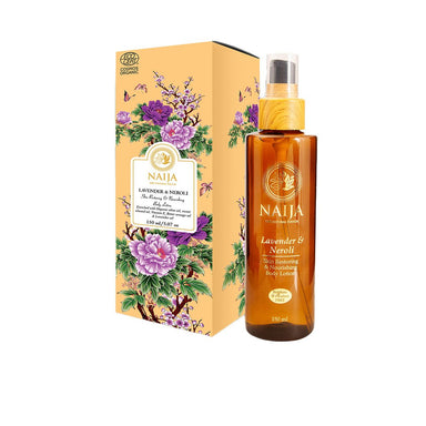 Vanity Wagon | Buy Naija Organic Lavender & Neroli Skin Restoring and Nourishing Body Lotion