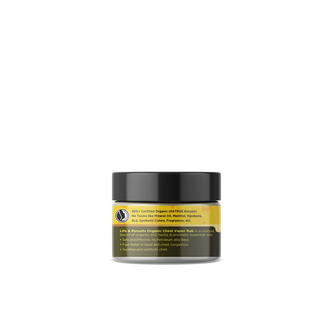 Life and Pursuits Breathe Free, Organic Chest Rub Balm -2