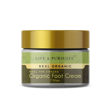 Life and Pursuits Heal The Cracks, Organic Foot Cream -1