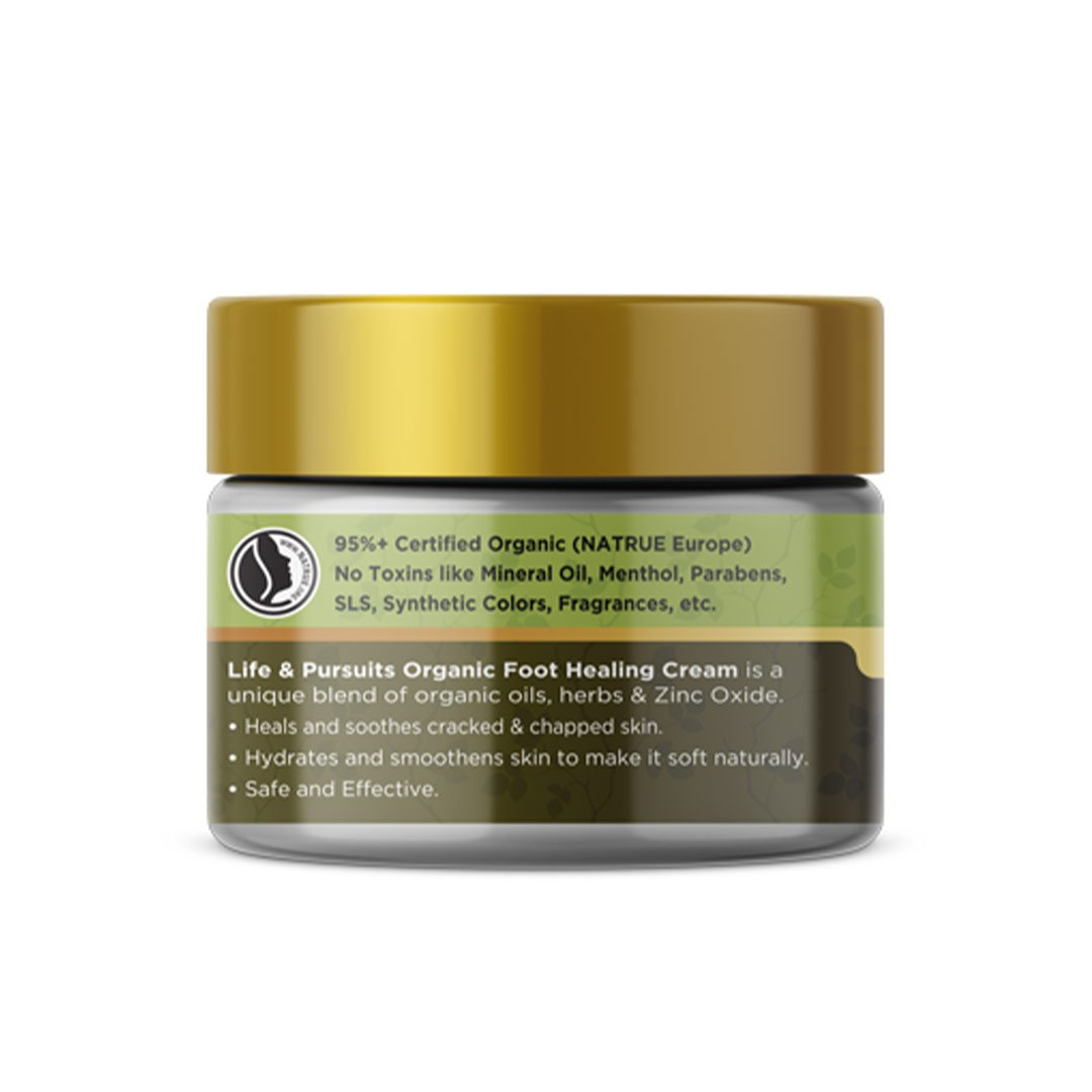 Life and Pursuits Heal The Cracks, Organic Foot Cream -2