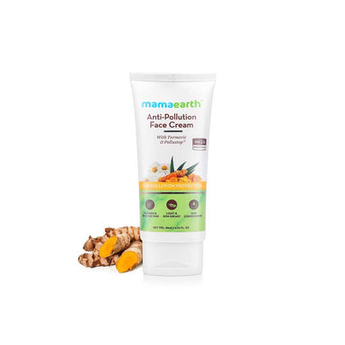 Mamaearth Anti-Pollution Face Cream with Turmeric and Pollustop, PM 2.5 -2