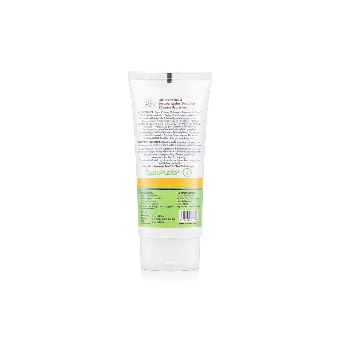 Mamaearth Anti-Pollution Face Cream with Turmeric and Pollustop, PM 2.5 -4