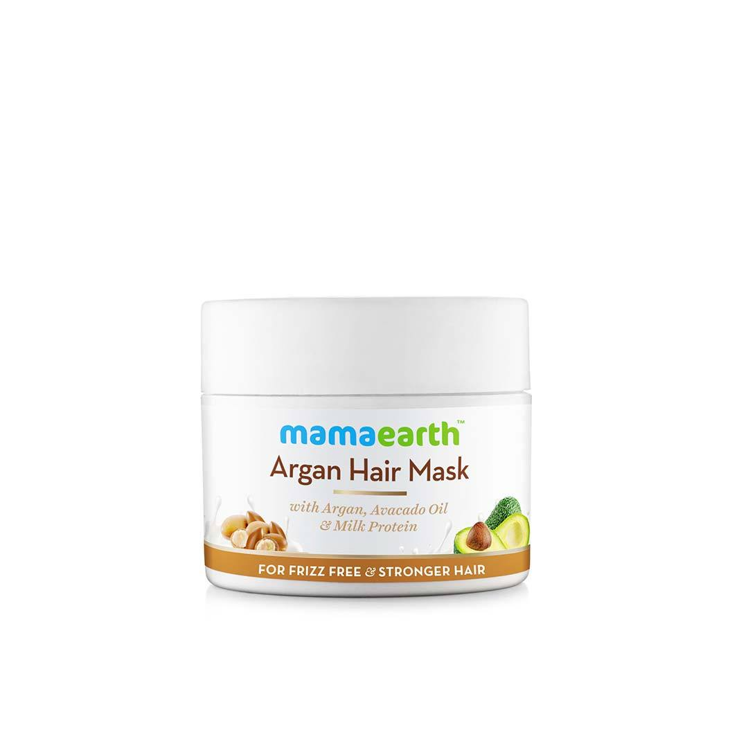 Mamaearth Argan Hair Mask with Argan, Avacado Oil and Milk Protein -1