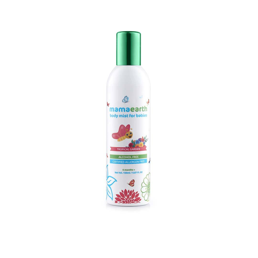 Mamaearth Body Mist for Babies, Tropical Garden -1