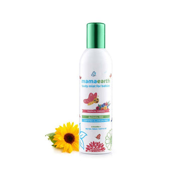 Mamaearth Body Mist for Babies, Tropical Garden -2