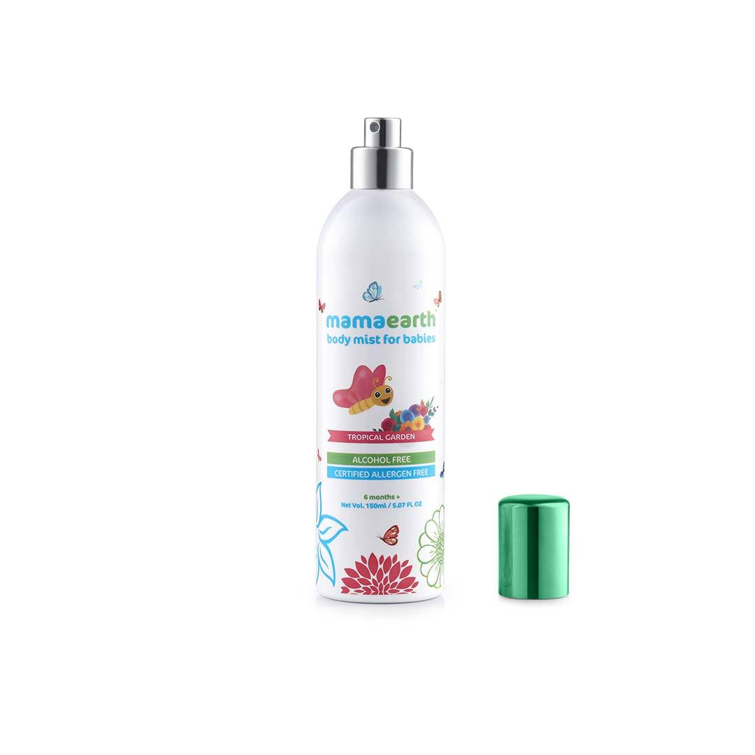 Mamaearth Body Mist for Babies, Tropical Garden -3