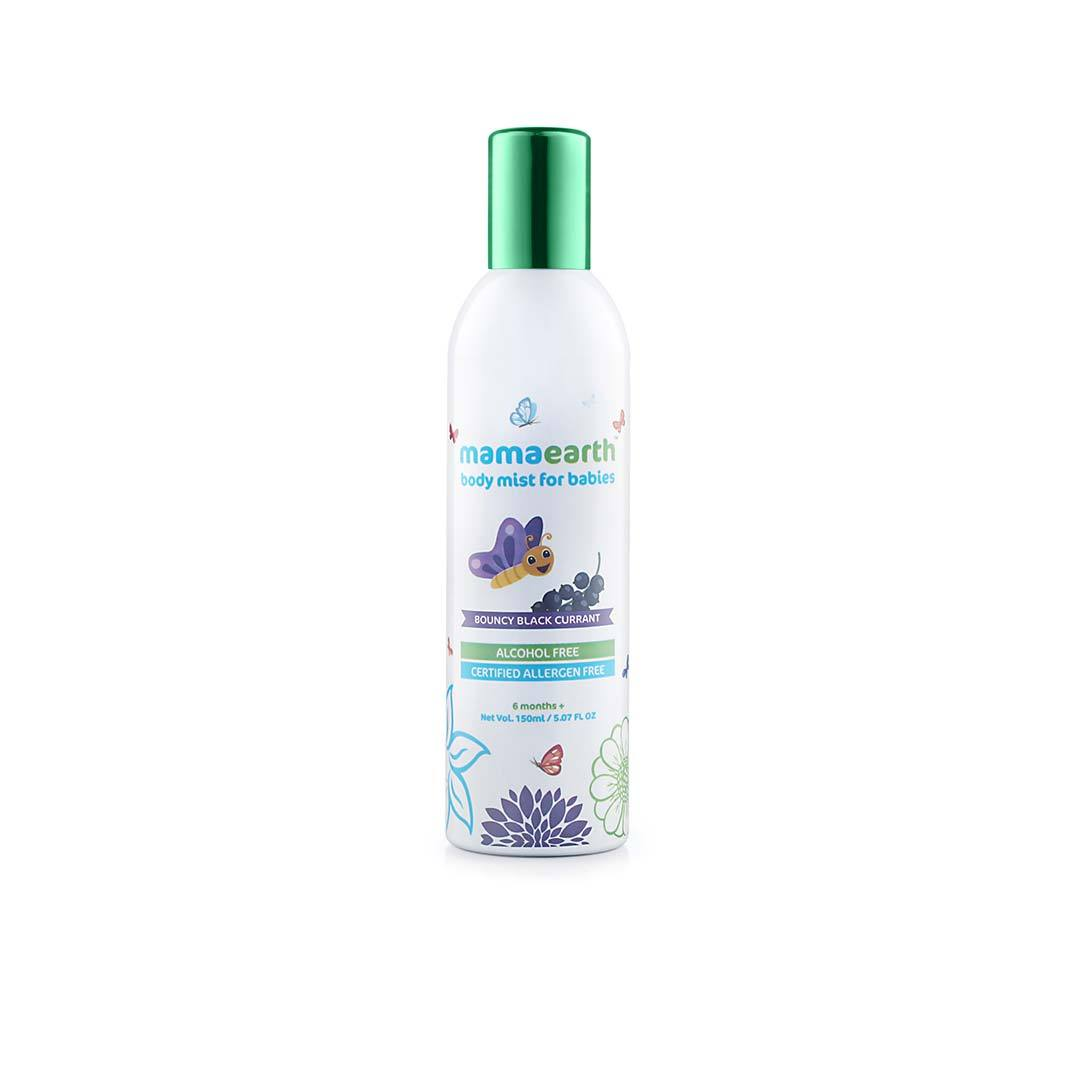 Mamaearth Body Mist for Babies with Bouncy Blackcurrant -1