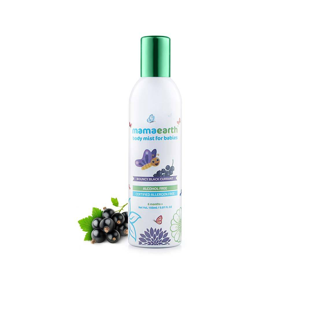 Mamaearth Body Mist for Babies with Bouncy Blackcurrant -2