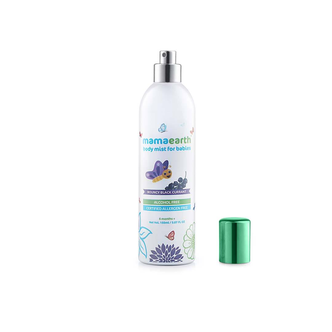Mamaearth Body Mist for Babies with Bouncy Blackcurrant -3