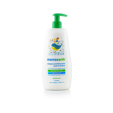 Mamaearth Deeply Nourishing Body Wash for Babies with Coconut