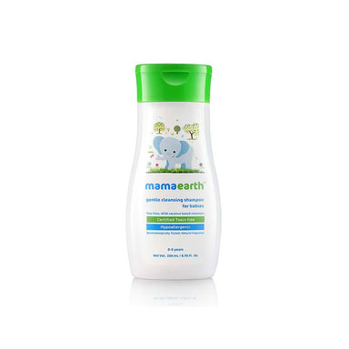Mamaearth Gentle Cleansing Shampoo for Babies with Coconut
