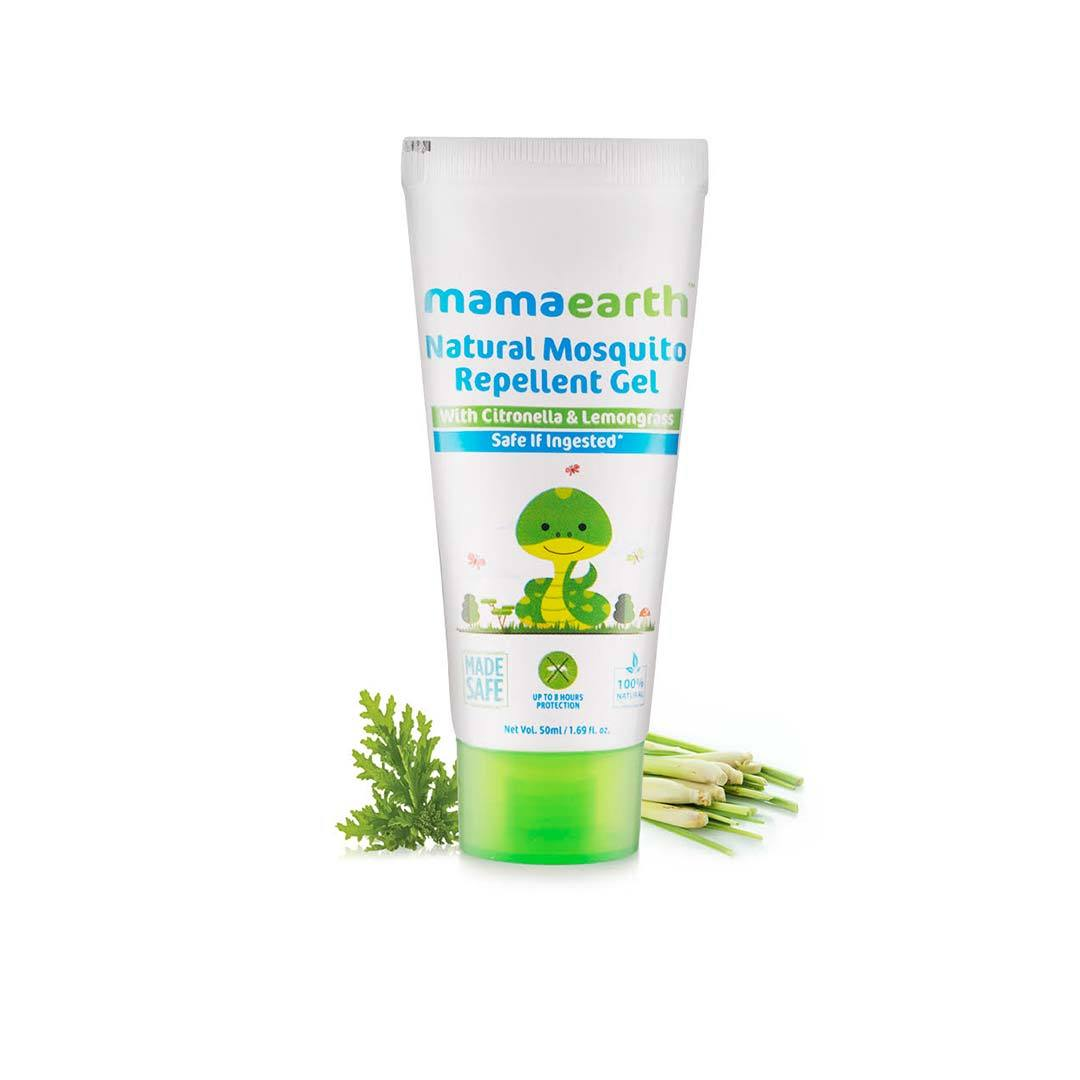 Mamaearth Natural Mosquito Repellent Gel with Citronella and Lemongrass -1
