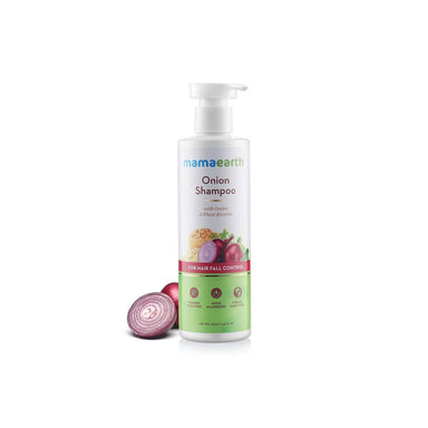 Mamaearth Onion Shampoo for Hair Fall Control with Onion and Plant Keratin -2
