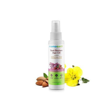 Mamaearth Root Restore Hair Oil for Hair Fall Reduction with Rosemary, Almond and Vitamin E -2