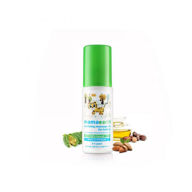 Mamaearth Soothing Massage Oil for Babies with Sesame, Almond and Jojoba Oil