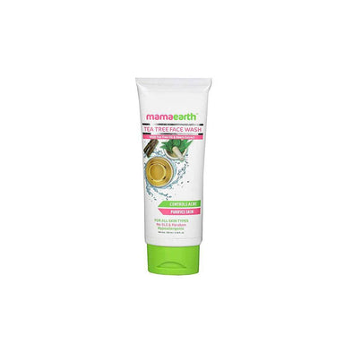 Mamaearth Tea Tree Face Wash for Acne and Pimples with Tea Tree Oil and Neem Etract