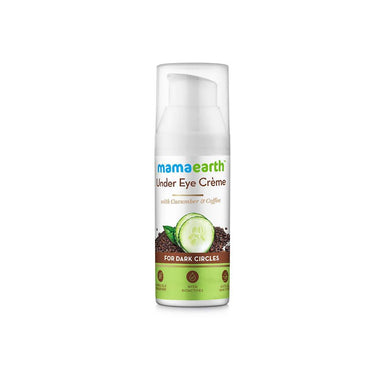 Mamaearth Under Eye Crème for Dark Circles with Cucumber and Coffee -1