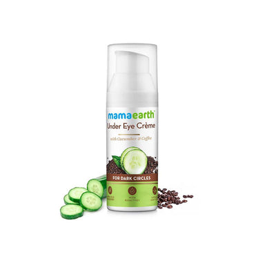 Mamaearth Under Eye Crème for Dark Circles with Cucumber and Coffee -2