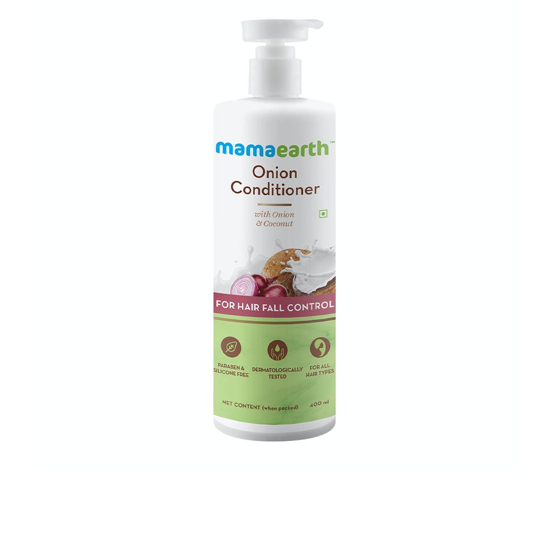 Mamaearth Onion Conditioner for Hair Growth and Hair Fall Control with Onion and Coconut