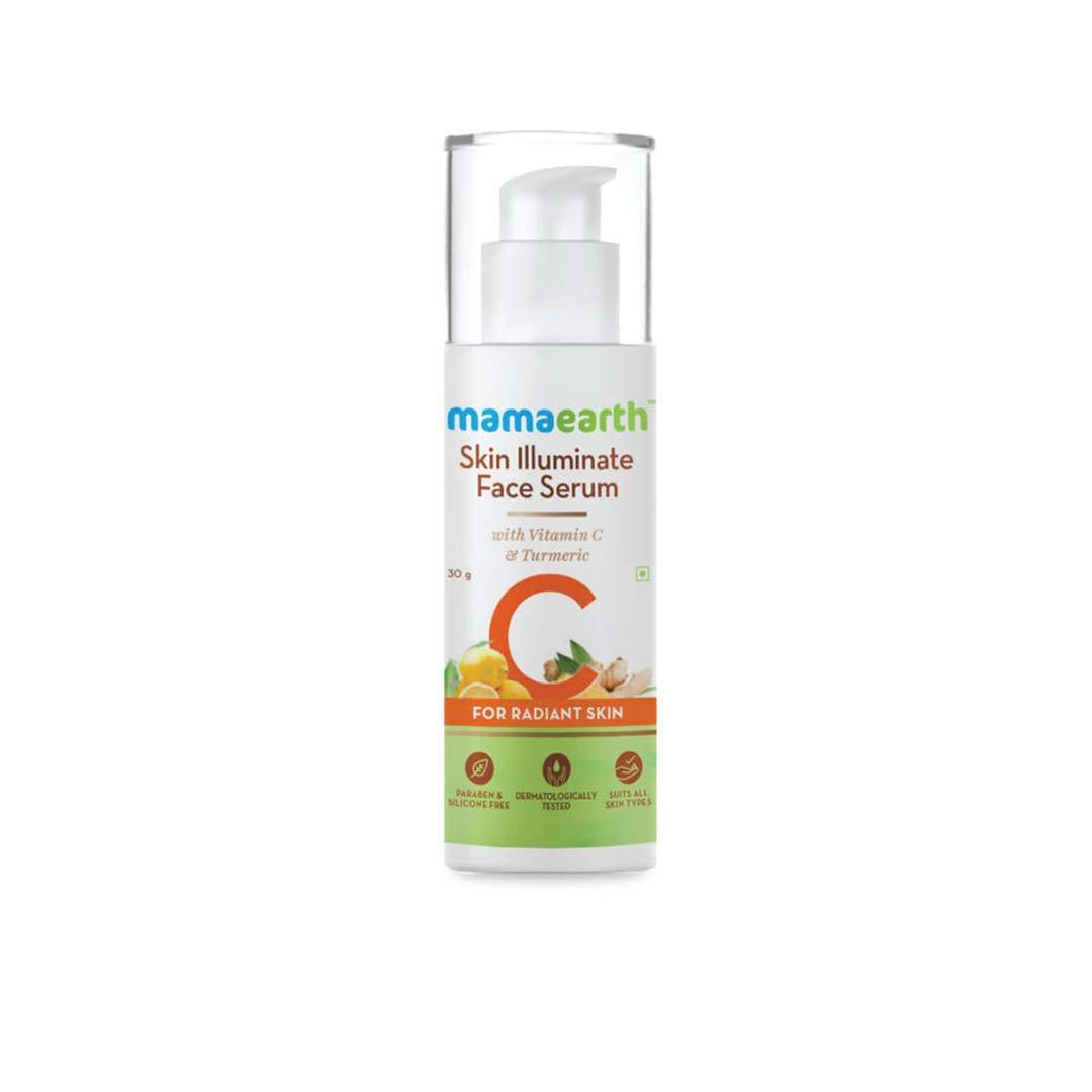 Mamaearth Skin Illuminate Face Serum with Vitamin C and Turmeric