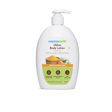 Vanity Wagon | Buy Mamaearth Ubtan Body Lotion with Turmeric & Kokum Butter