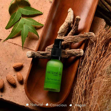 Vanity Wagon | Buy Natural Vibes Ayurvedic Tea Tree Skin Repair Serum