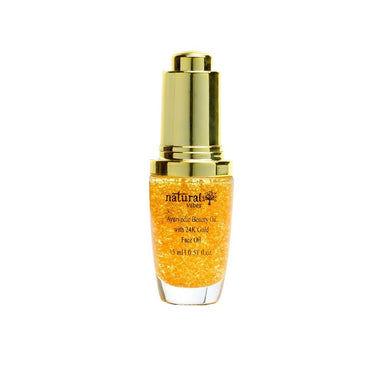 Vanity Wagon | Buy Natural Vibes Ayurvedic Beauty Face Oil with 24K Gold