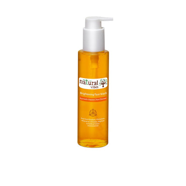Vanity Wagon | Buy Natural Vibes Ayurvedic Brightening Face Wash with Vitamin C