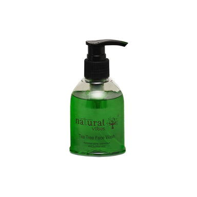 Natural Vibes Ayurvedic Tea Tree Face Wash -1