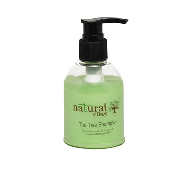 Natural Vibes Ayurvedic Tea Tree Shampoo -1