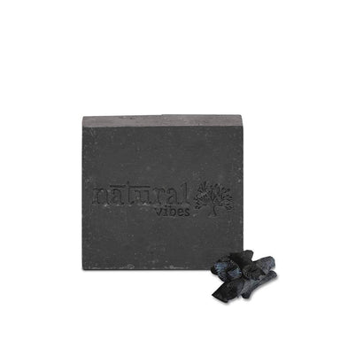 Natural Vibes Ayurvedic Tea Tree and Acitivated Charcoal Soap -1