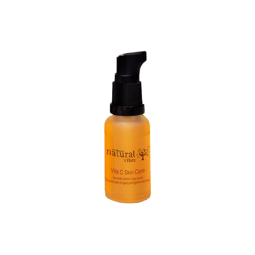 Vanity Wagon | Buy Natural Vibes Ayurvedic Vitamin C Face Serum