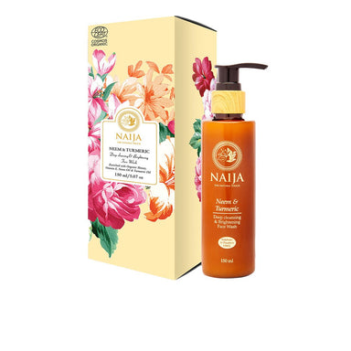 Vanity Wagon | Buy Naija Organic Neem & Turmeric Deep Cleansing and Brightening Face Wash