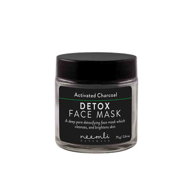 Neemli Naturals Activated Charcoal Detox Face Mask