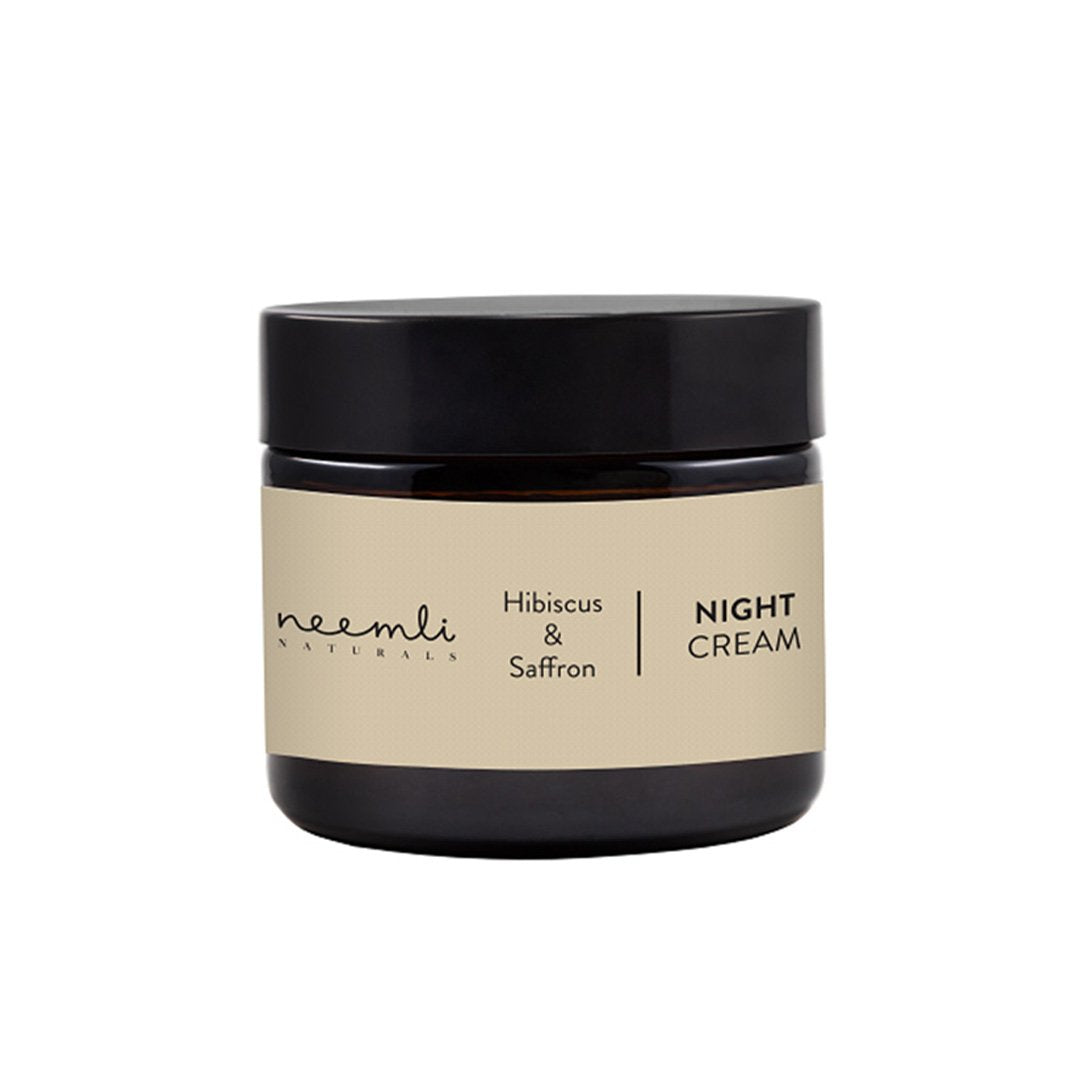 Neemli Naturals Hibiscus and Saffron Night Cream