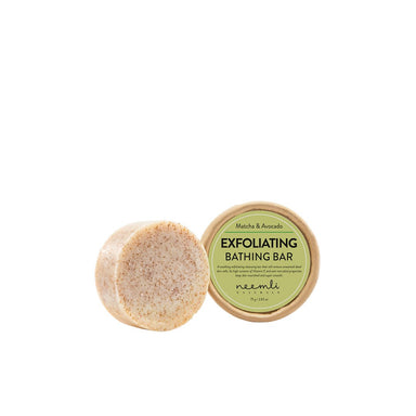 Neemli Naturals Matcha and Avocado Exfoliating Bathing Bar
