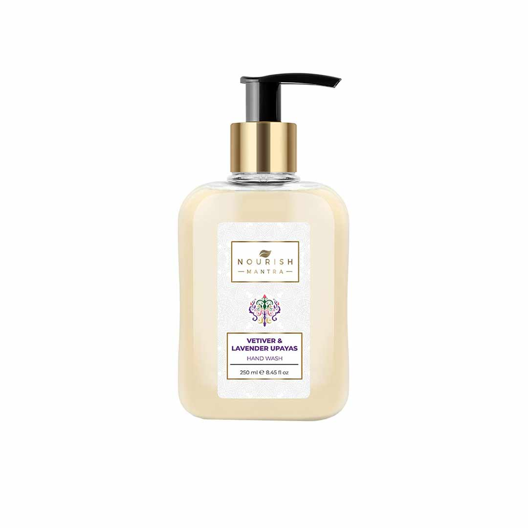 Nourish Mantra Vetiver and Lavender Upayas Hand Wash with Citric Acid