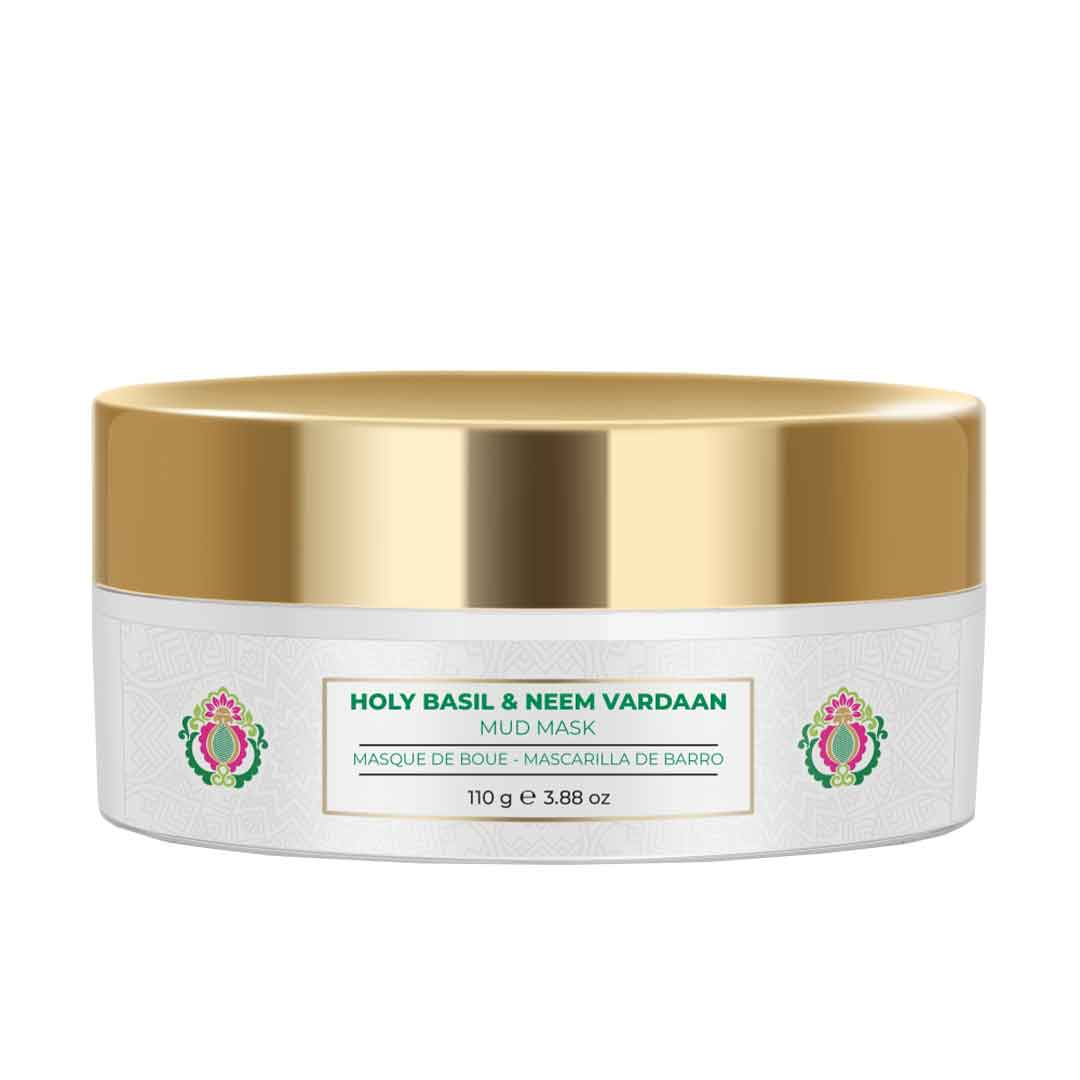 Nourish Mantra Holy Basil & Neem Vardaan Mud Mask with Tea Tree Oil